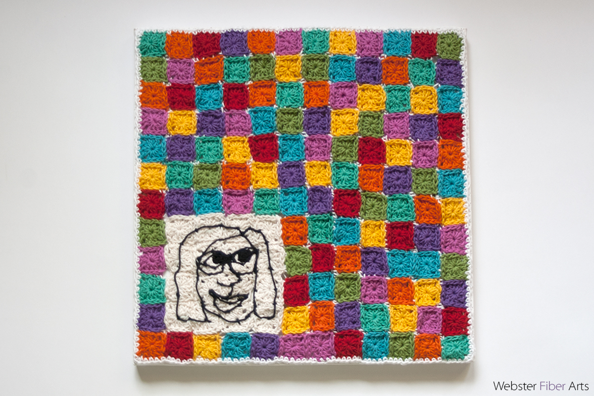 I Live in a Granny Square World | Annie Webster | Webster Fiber Arts