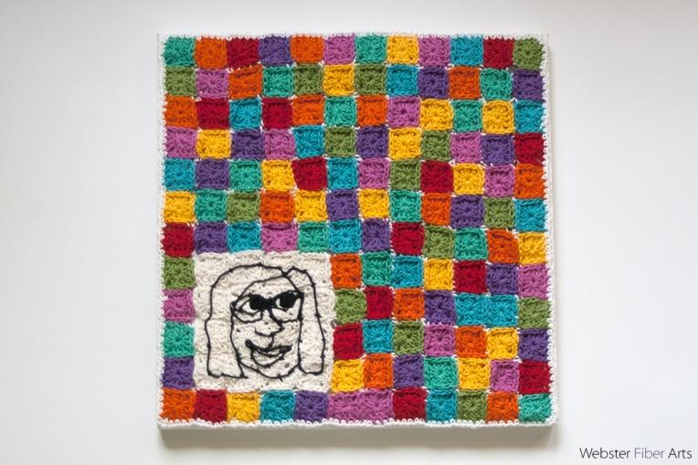 I Live in a Granny Square World | Annie Webster | Webster Fiber Arts