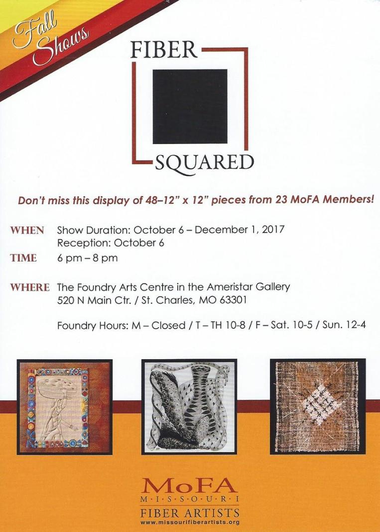 Fiber Squared - Missouri Fiber Artists | Webster Fiber Arts