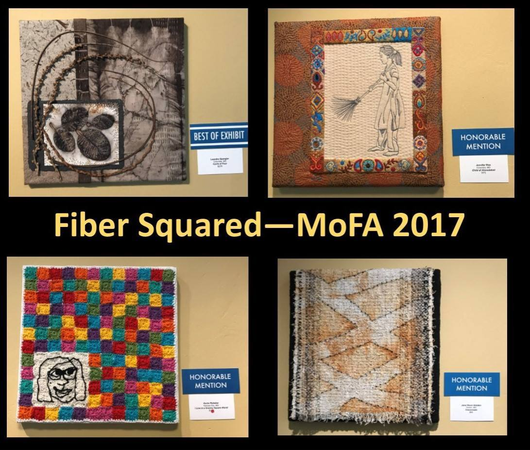 Fiber Squared - MoFA 2017 photo by Jane Olson Glidden | Webster Fiber Arts
