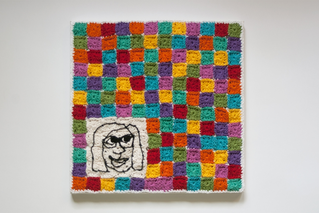 I Live in a Granny Square World by Annie Webster | Webster Fiber Arts