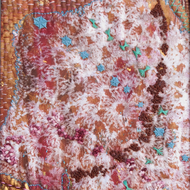 What Remains Detail by Annie Webster | Webster Fiber Arts