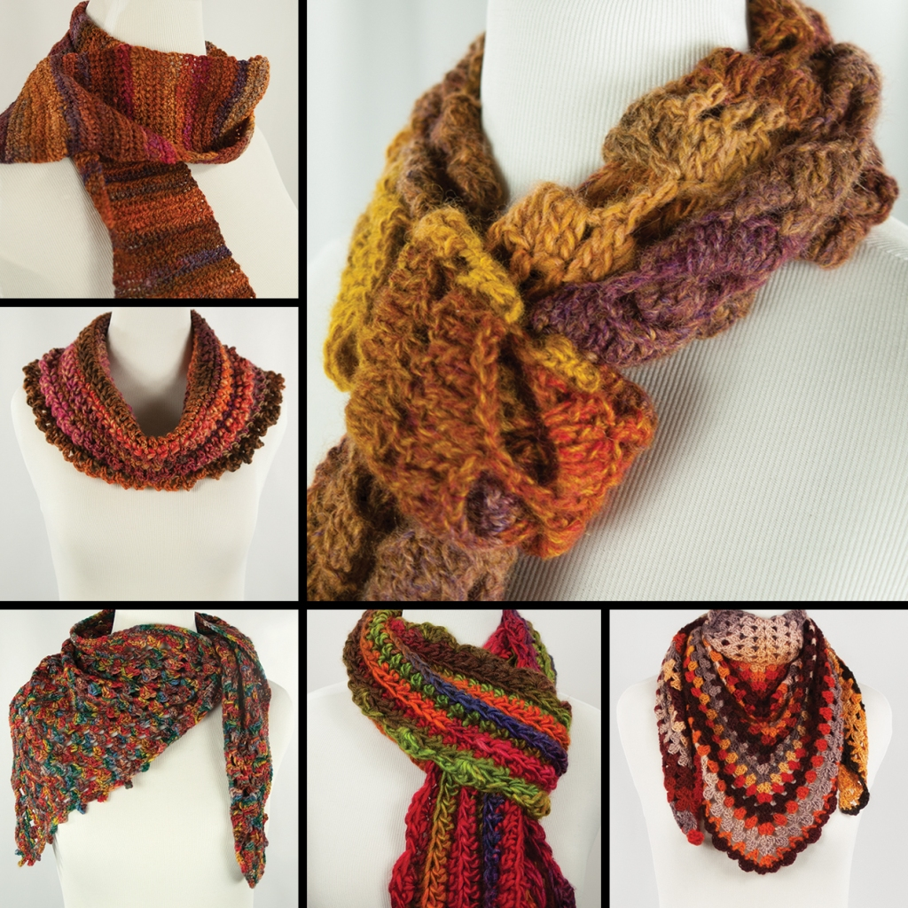 Fall Wearable Art by Annie Webster | Webster Fiber Arts