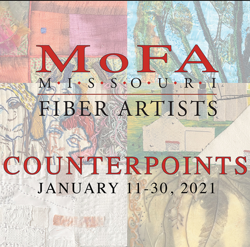 Missouri Fiber Artists Counterpoints January 11-30, 2021 | Webster Fiber Arts