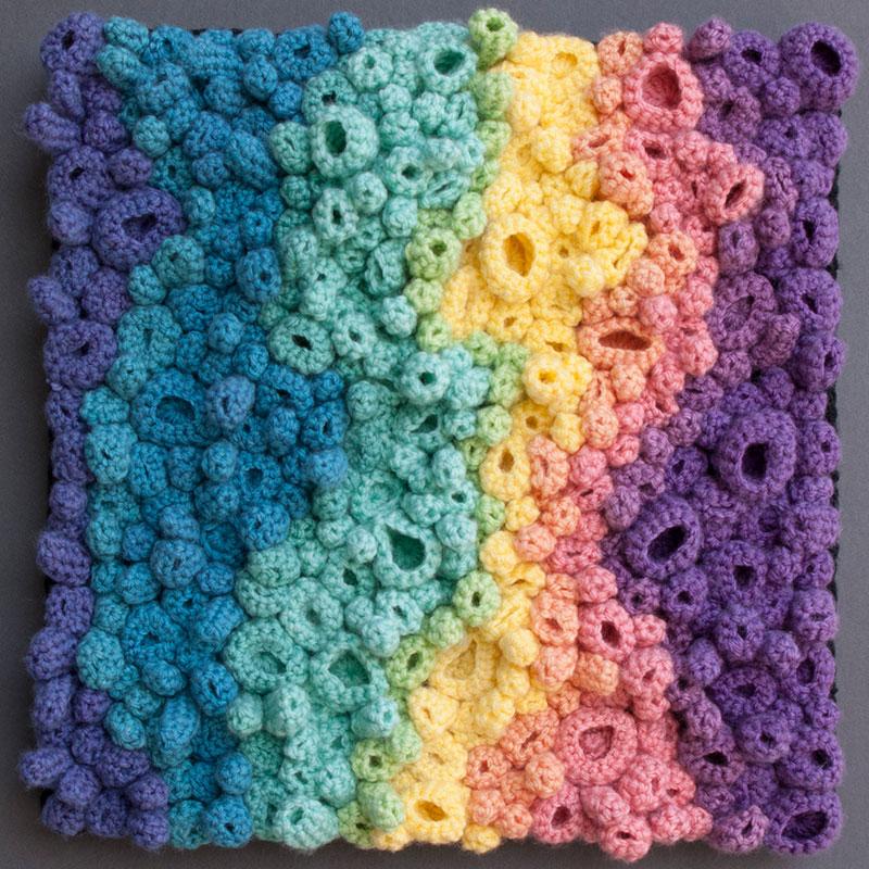 Coral Spectrum by Annie Webster | Webster Fiber Arts